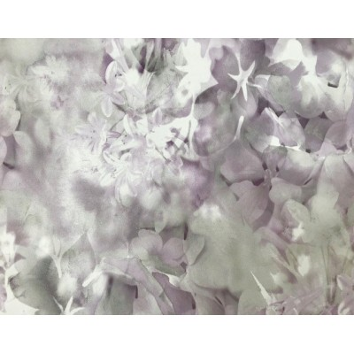 Tapeta 02470-20 malowane kwiaty szaro fioletowa