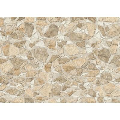 Tapeta 5734-01 beżowe kamienie połyskujące