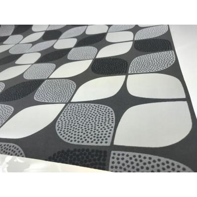 Tapeta A26402 wzory odcienie szarości