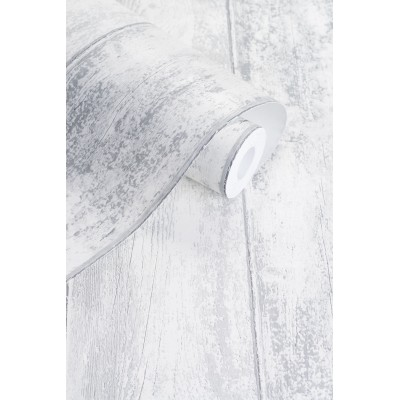 Tapeta 125802 szara drewniana deska VINTAGE