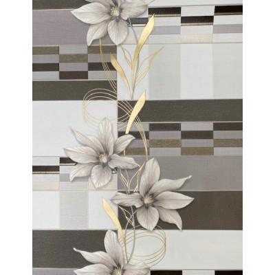Tapeta 5790-10 płytki w kwiaty