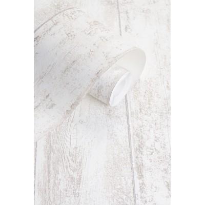 Tapeta 125803 beżowa drewniana deska VINTAGE