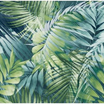 TAPETA 170702 palma liście palmy FLIZELINA
