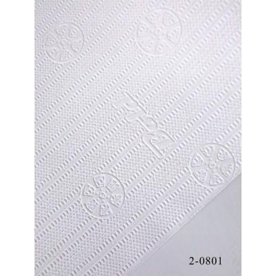 Tapeta 2-0801 biała tłoczenia auta tło